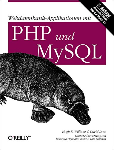 9783897213876: Webdatenbank-Applikationen mit PHP und MySQL: Behandelt PEAR, PHP 5 & MySQL 4.1