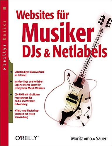 9783897214330: Websites für Musiker, DJs und Netlabels, m. CD-ROM