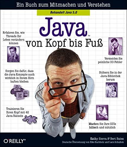 9783897214484: Java von Kopf bis Fuß