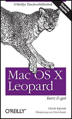 9783897215375: Mac OS X Leopard - kurz & gut