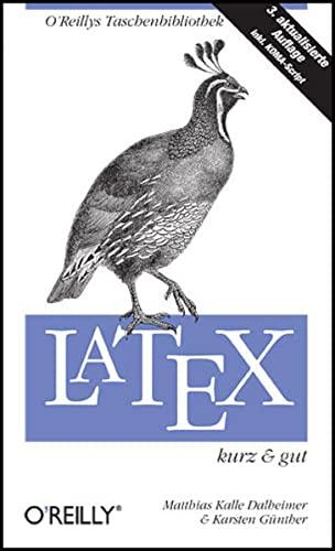 9783897215429: LaTeX - kurz & gut