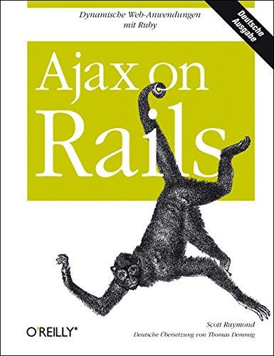 9783897217164: Ajax on Rails