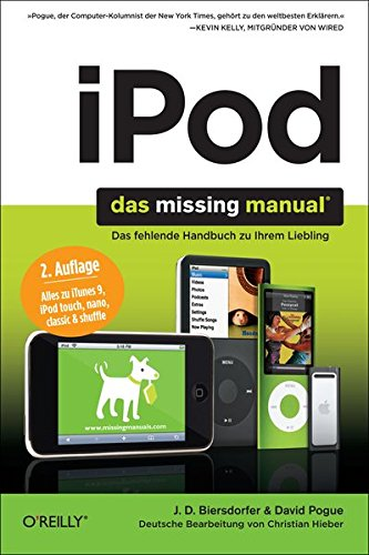 9783897219908: iPod Missing Manual