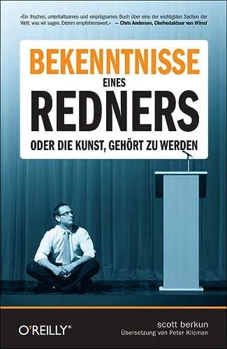 Bekenntnisse eines Redners (389721993X) by [???]