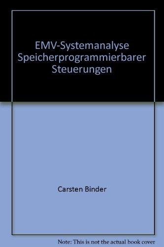 9783897220959: EMV-Systemanalyse Speicherprogrammierbarer Steuerungen