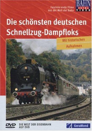 9783897245495: DVD Die deutschen Schnellzug-Dampfloks [Alemania]