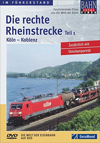 9783897246263: Rechte Rheinstrecke 1,die:Köln-Koblenz [Import allemand]