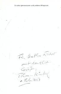 9783897271852: Tilman Küntzel