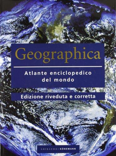 9783897319134: Geographica. Atlante enciclopedico del mondo