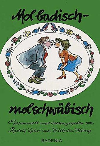 9783897353411: Mol badisch, mol schw�bisch