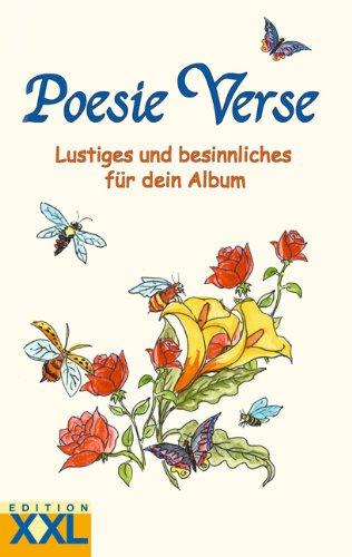 9783897365049: Poesie Verse