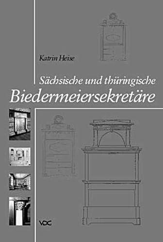 9783897392557: Sächsische und thüringische Biedermeiersekretäre