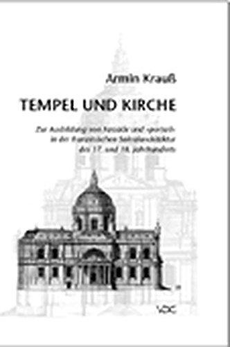 Tempel und Kirche: Armin Krauss