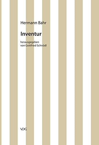Kritische Schriften in Einzelausgaben / Inventur. Essays: Kritische Schriften in ...