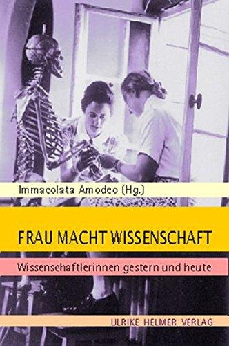 9783897411180: Frau Macht Wissenschaft