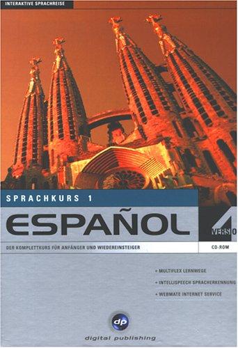 Espanol 1. Version 4. Sprachkurs. CD- ROM für Windows 95/98/ NT4/2000