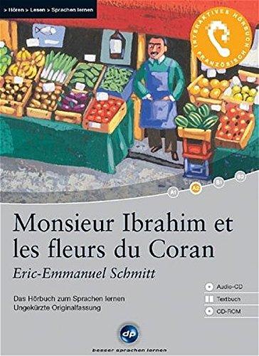 9783897473478: Monsieur Ibrahim et les fleurs du Coran: Das Hörbuch zum Sprachen lernen. Niveau A2