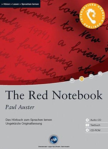 9783897473508: The Red Notebook: Das Hörbuch zum Sprachen lernen mit ausgewählten Kurzgeschichten. Niveau A2