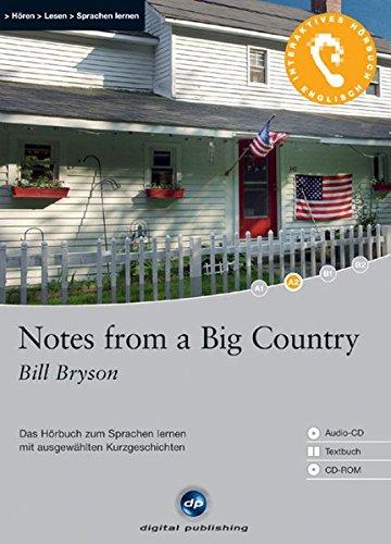 9783897474703: Notes from a Big Country: Das Hörbuch zum Sprachen lernen. Niveau A2