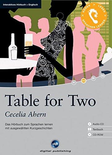 9783897479289: Table for Two: Das H�rbuch zum Sprachen lernen mit ausgew�hlten Kurzgeschichten. Niveau A2