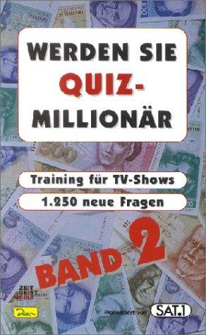9783897484689: Werden Sie Quiz-Millionär