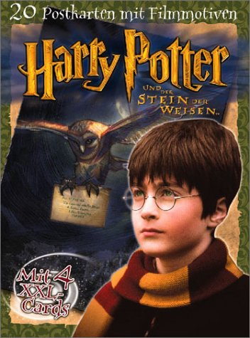 Harry Potter, 20 Postkarten mit Filmmotiven (389748529X) by Joanne K. Rowling