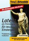 9783897493735: Latein als Fremdsprache für (Wieder-) Einsteiger, 1 Audio-CD m. Textheft