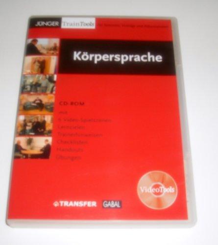9783897497757: Körpersprache - CD-ROM mit 6 Video-Spielszenen, Lernzielen, Trainerhinweisen, Checklisten, Handouts und Übungen - XP-fähig