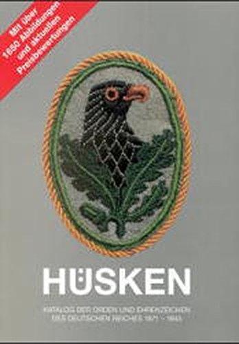 Katalog der Orden und Ehrenzeichen des Deutschen: Andre Hüsken