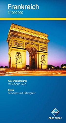 9783897642652: Aral Straßenkarte Frankreich 1 : 1 000 000