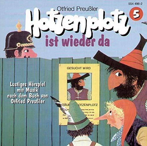 9783897650589: Räuber Hotzenplotz - CDs: Hotzenplotz, CD-Audio, Folge.5, Hotzenplotz ist wieder da, 1 CD-Audio