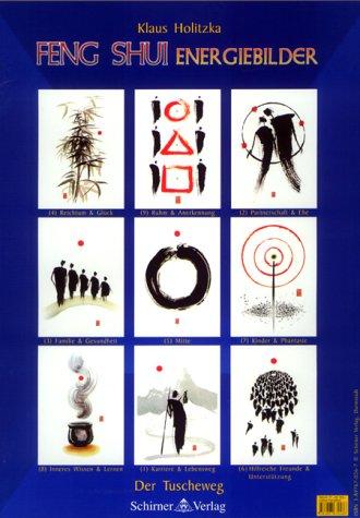 9783897670266: Feng Shui Energiebilder, Der Tuscheweg, 9 Poster