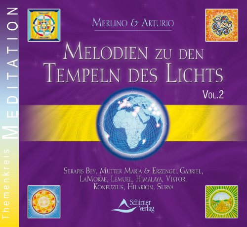 9783897672703: Melodien zu den Tempeln des Lichts 2