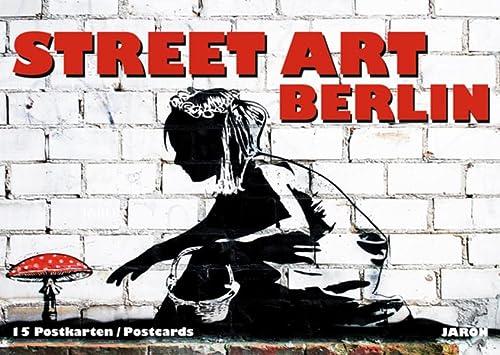 9783897731646: Street Art Berlin: 15 Postkarten / Postcards