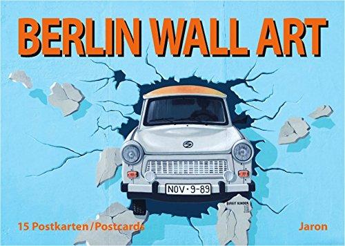 9783897731660: Berlin Wall Art: 15 Postkarten / Postcards