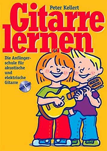 9783897750739: Gitarre lernen mit CD: Die Anfängerschule für akustische und elektrische Gitarre mit CD
