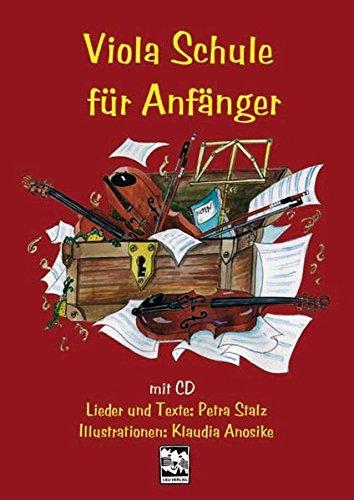 9783897751125: Viola-Schule für Anfänger, m. Audio-CD
