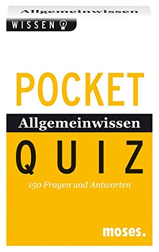 9783897770379: Allgemeinwissen von A - Z. Pocket Quiz: 150 Fragen und Antworten. Für Erwachsene