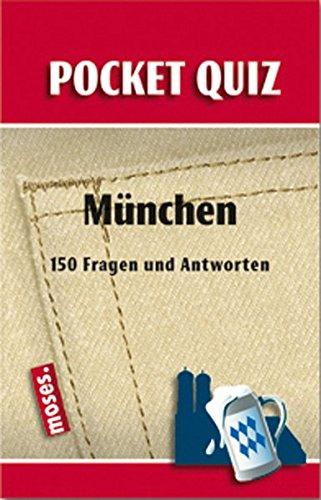 9783897773585: Pocket Quiz München: 150 Fragen und Antworten
