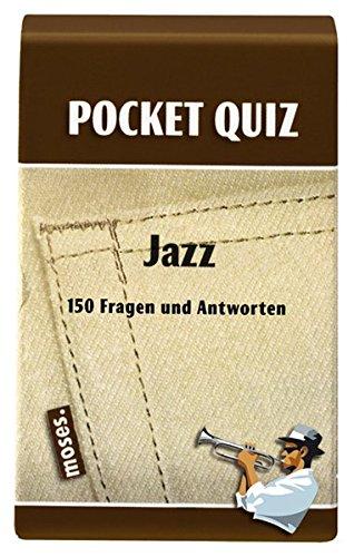 9783897774162: Pocket Quiz Jazz: 150 Fragen und Antworten