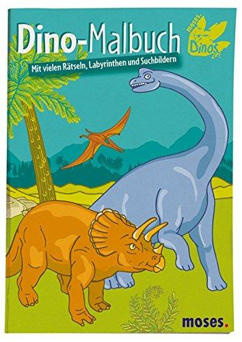 9783897774391: Dino-Malbuch