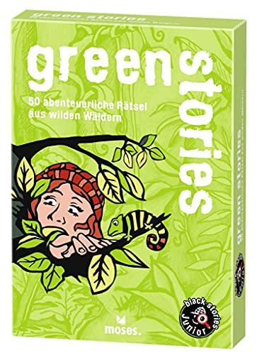 9783897774858: Green Stories: 50 abenteuerliche Rätsel aus wilden Wäldern