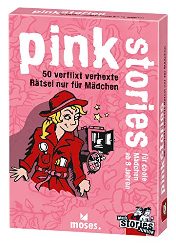 9783897774865: Pink Stories: 50 verflixt verhexte Rätsel nur für Mädchen