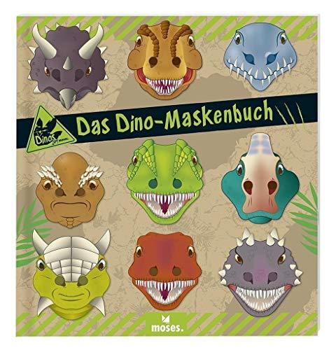 9783897775336: Dino Maskenbuch