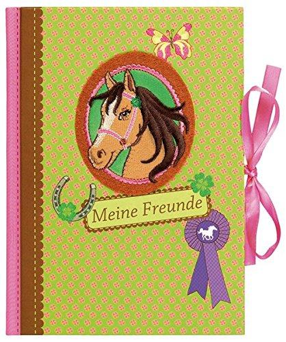 9783897775831: Pferdeglück Freundebuch