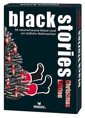 9783897776319: black stories Christmas Edition.: 50 rabenschwarze Rätsel rund um tödliche Weihnachten