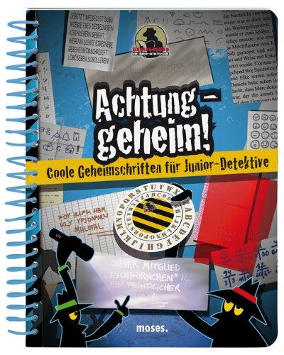 9783897776494: Achtung geheim! Coole Geheimschriften für Junior-Detektive