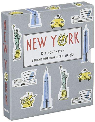 City Skyline New York: Die schönsten Sehenswürdigkeiten in 3D