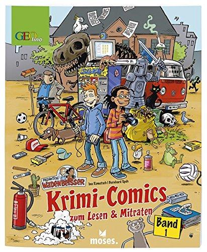 9783897778399: Redaktion Wadenbeißer: Krimi-Comics zum Lesen & Mitraten