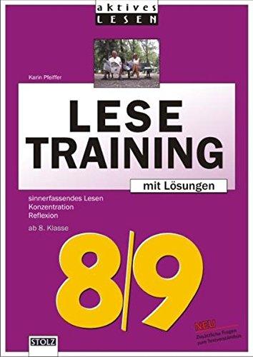Lesetraining 8/9